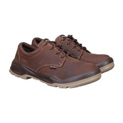 Steel Toe Brown Safety Shoes, For Industrial, Size: 5-12