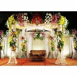 Stage Flower Decoration Service