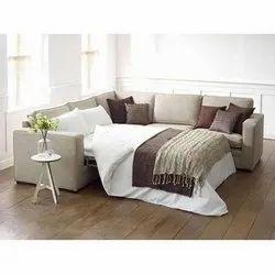 L Shape Convertible Sofa Bed