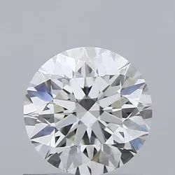 0.61ct Round H VVS1 GIA Certified Natural Diamond