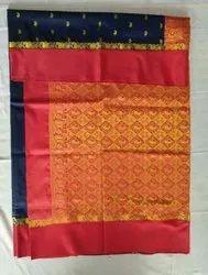 Printed Wedding Wear TRT 6M Kanjivaram Silk Saree, Dry clean, 6 m (with blouse piece)