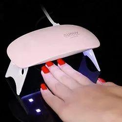 LED UV Nail Polish Dryer Mini Foldable Nail Lamp Curing Lamp Light Portable