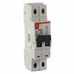 16A Double Pole L&T Miniature Circuit Breaker