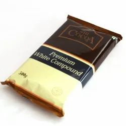 Bar 2M Cocoa Premium White Compound, Packaging Size: 500GMS