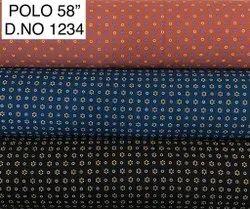 Pure Cotton Bermuda Printed Fabric, Plain/Solids, Multicolour