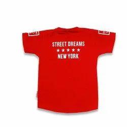 Versatile Apparels Casual Wear Kids Printed Cotton T Shirts