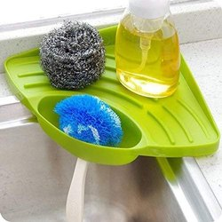 Swadakitch Plastic Kitchen Sink Corner Tray, Size: 8 Inch