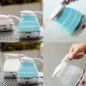 Travel Folding Electric Kettle - Fast Boiling - Food Grade Silicone - Beautiful Design