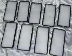 Black PC TPU Mobile Cases