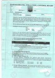 MPCB Consent Industrial Scrap Service, Maharashtra