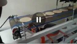 Chapati Making Machine colling conveyor