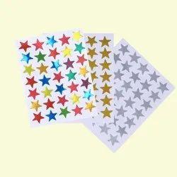 4x2 Inch Plastic Stickers