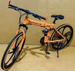 Orange Porsche Foldable Cycle