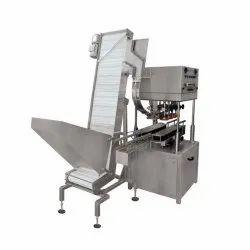KV Tech SS Jar Capping Machine