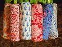 Hand Block Printed Cotton Pencil Pouch Bag