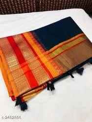 Soft Kota Doriya Cotton Saree
