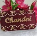 Personalized Red Party Clutch
