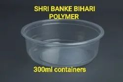 Plastic Food Packaging Container 300ml