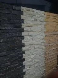 Sandstone, Limestone Hand Crafted 3D Elevation Wall Tiles, Thickness: 15 mm, Size: Large (12 inch x 12 inch)