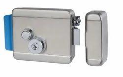 Electric Security Door Lock, Silver