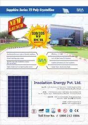 DCR Poly Crystaline Solar Panel