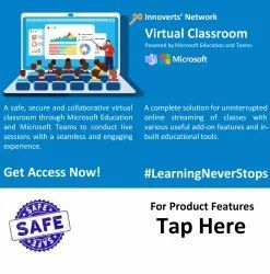 Virtual Digital Interactive Classroom- AV Conferencing- Powered by Microsoft