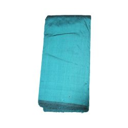 Plain 44 Inches Pure Raw Silk Fabric, GSM: 100 Gsm