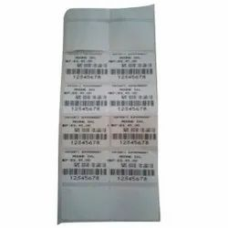 Thermal Barcode Sticker