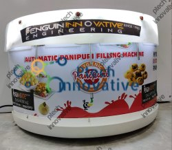 3 Nozzle Table Top New Model Pani Puri Filling Machine