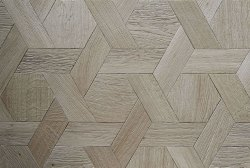Matt Hexagod Wooden Floor