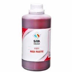 Red 112 Pigment Paste For Water Based Paste