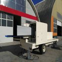 Mobile Type With Trailer With Bending Arch Span Rolling Forming Machine.