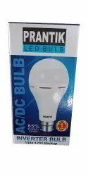 9W AC DC Inverter CDL Round LED Bulb Emergency bulb