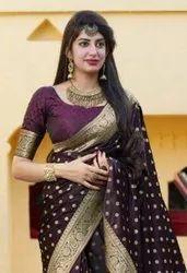 Manjubaa Mukunda Silk Fancy Designer Saree Catalog
