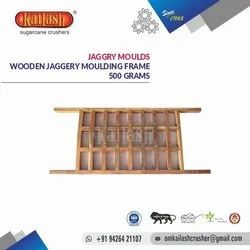 Om Kailash Wooden Jaggery Moulds 500 Grams