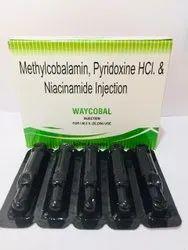 Methylcobalamin 1500mcg Niacinamide 100mg  Pyridoxine 100mg  Benzyl Alcohal 2%