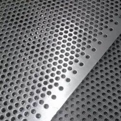 Oblong Hole Perforated Sheet