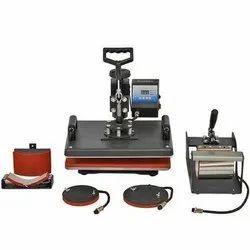5 In 1 Sublimation Heat Press Machine