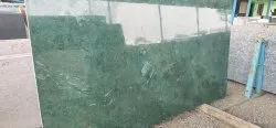 Polished Emerald Green Granite, For Flooring, Thickness: 10-15 mm