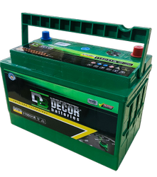 Decor Green,Black N70 (105D31) 12V 80Ah Automotive Car Battery, Capacity: 70 Ah
