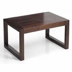 39.5 X 23.5 X 16 Inch (wxdxh) Brown Wooden Center Table