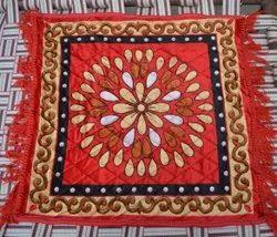 Pooja Aasan in Velvet for puja