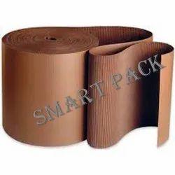 SmartPack Wood Pulp Corrugates Roll, GSM: 80 - 120 GSM