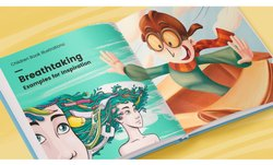 Children Illustration Book, English, 4th Class