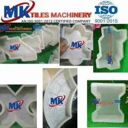 White Rectangular Silicon Plastic Mould, For Moulding