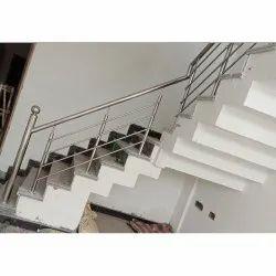 Stainless Steel Railing Grade 202, Mounting Type: Floor