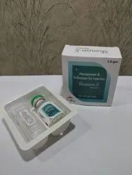 Meropenum 1000Mg, Salbactum 500Mg (With Wfi& Tray) Injection