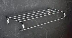 Brass Chrome Towel Rack, Size: 18 Inch