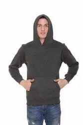 HARBORNBAY Men''s Fleece Hooded Sweatshirt Dark Grey