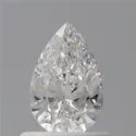 Pear 0.53ct E IF Natural HPHT GIA Certified Natural Diamond